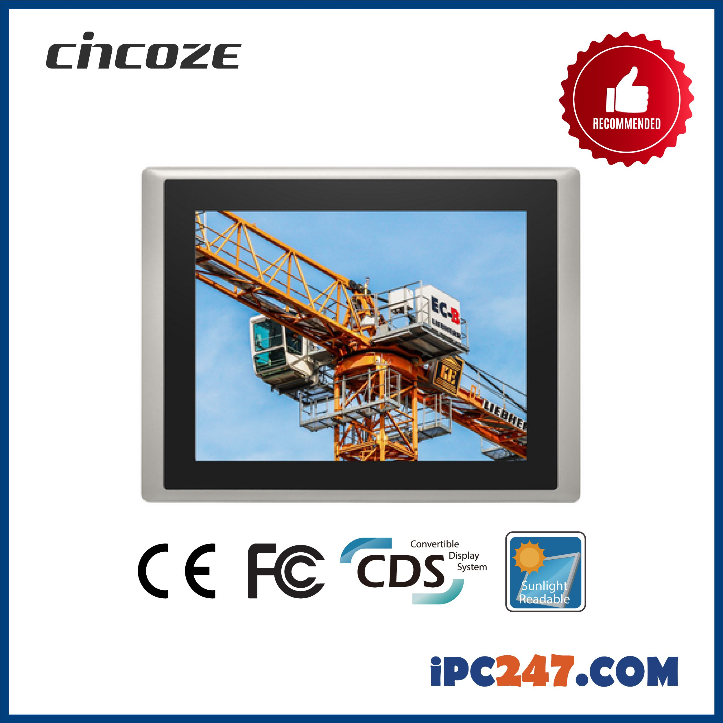 Máy tính công nghiệp IPC CS-112-M1001