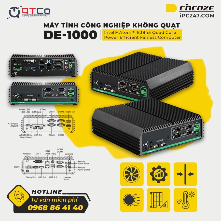 Cincoze DE-1000 chi tiet