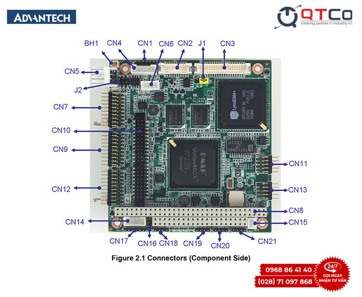 Bo mach may tinh nhung PCM-3343 detail