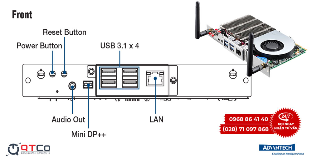 Ky thuat so mo-dun DS-200GB-U5A1E front