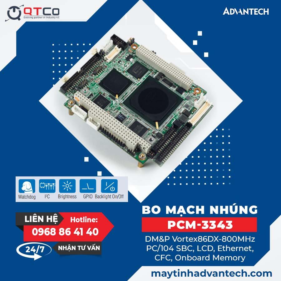 Bo mach may tinh nhung PCM-3343