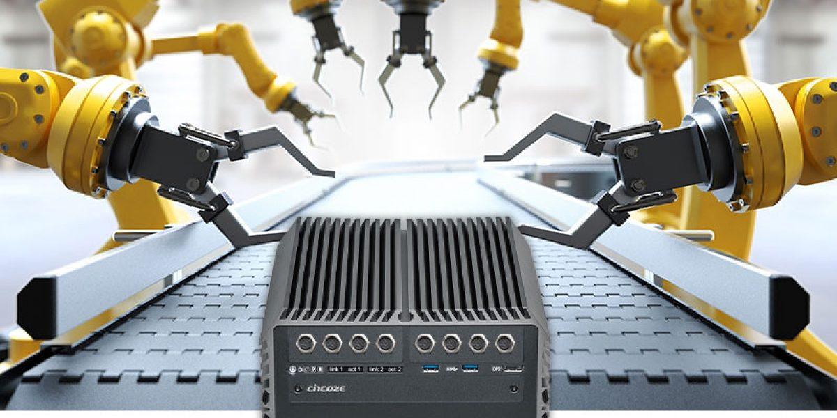 Cincoze DS-1200 ung dung robot