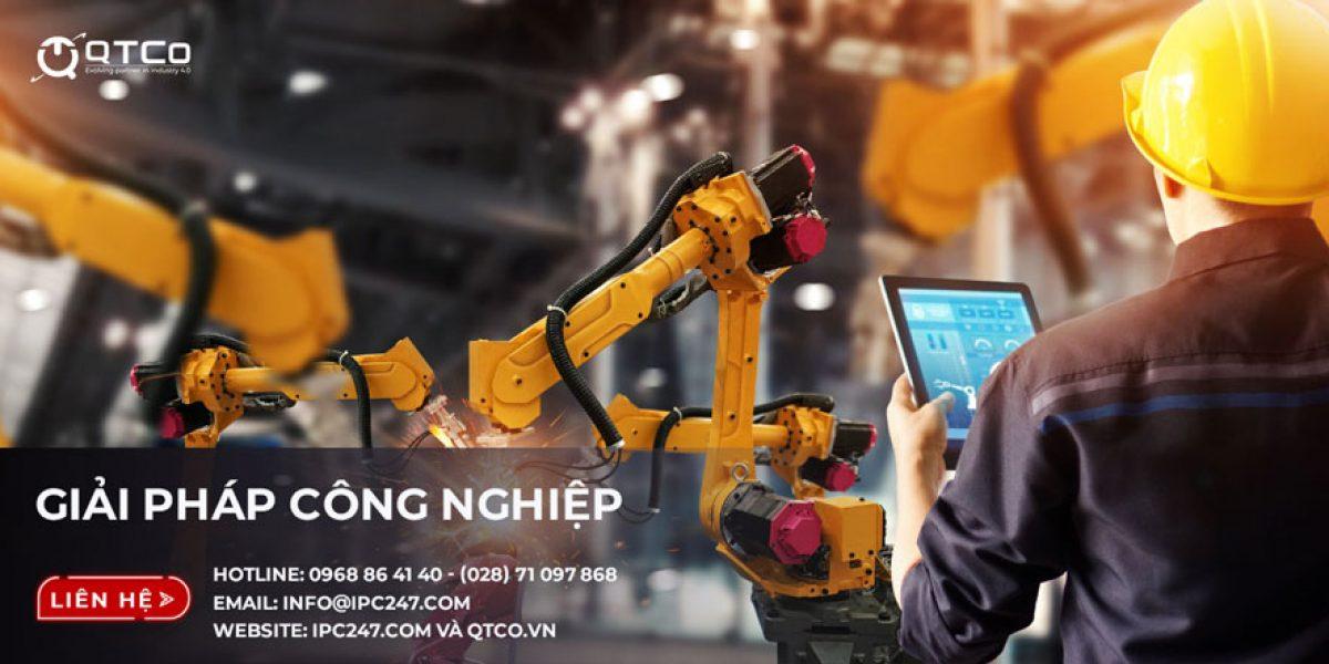 Hoạt động sản xuất ứng dụng máy tính công nghiệp